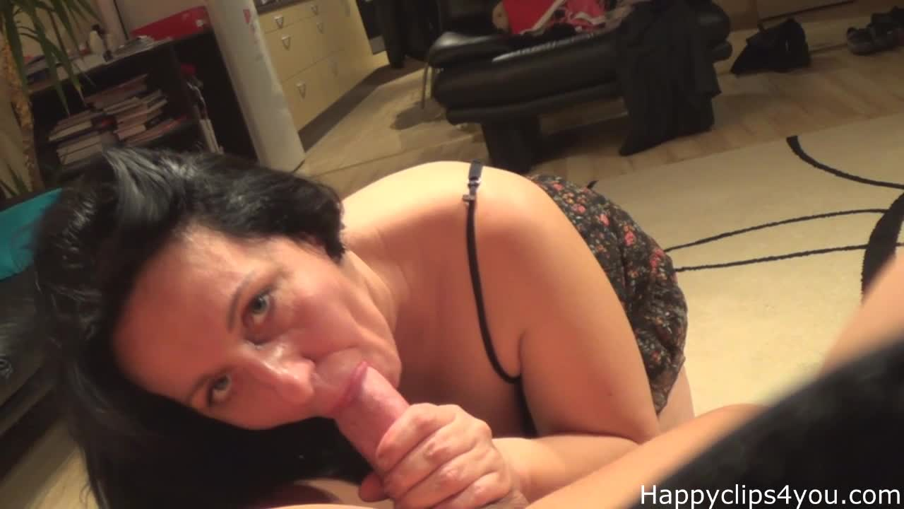 Mature Alisa blowjob cumshot video