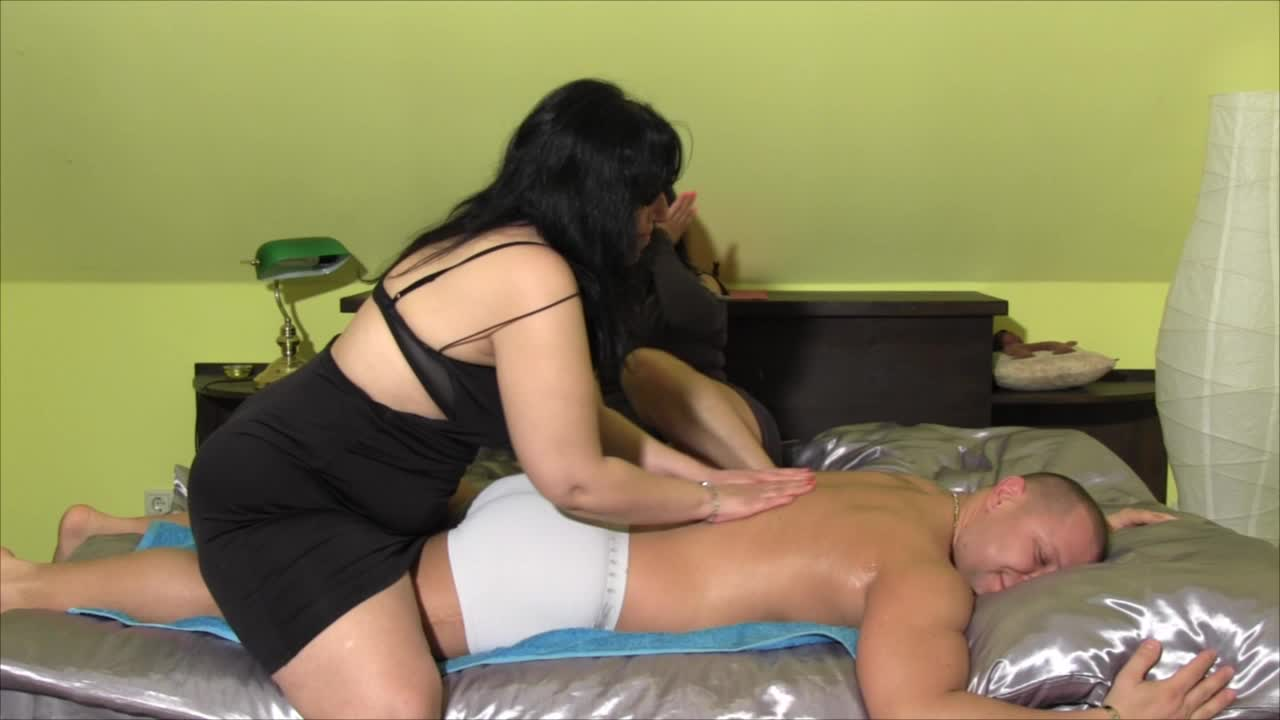 Alisa and Rachel oil massage and more