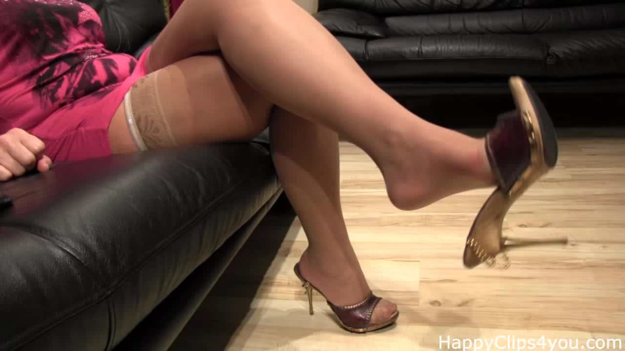 Grace foot fetish video