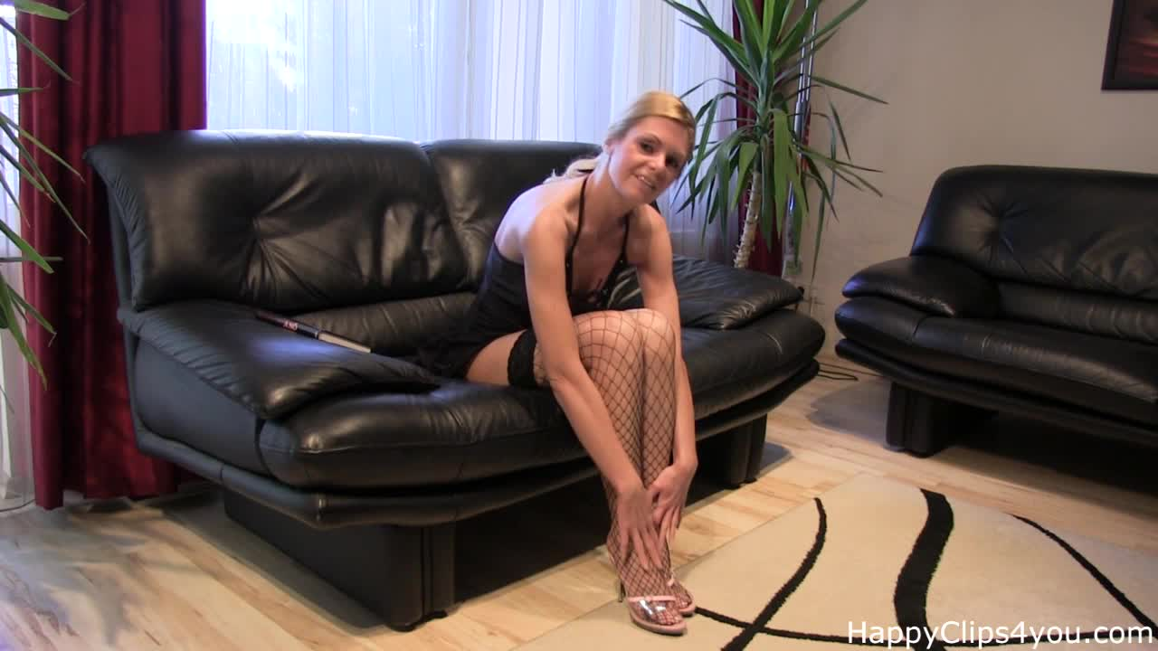Jenna Foxxx teasing you with her tiny body, and nice legs, and stockings