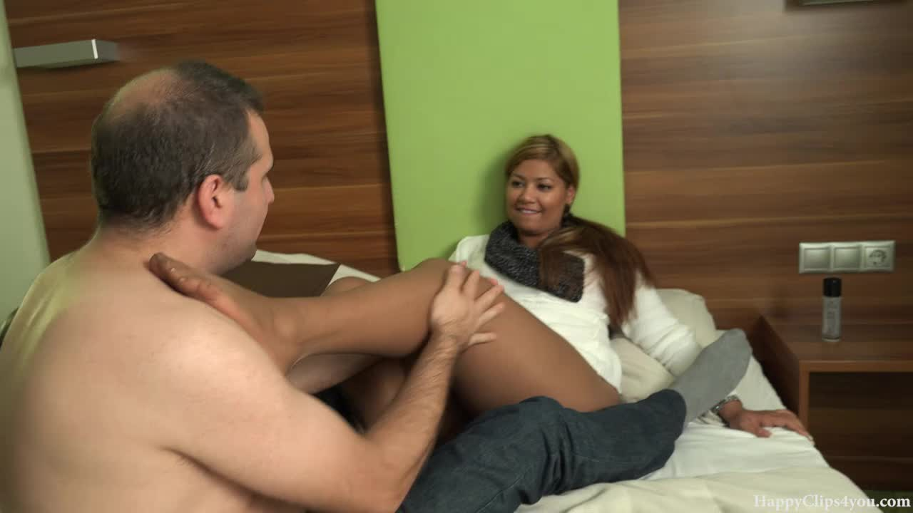 Taboo footjob by Jessica May...